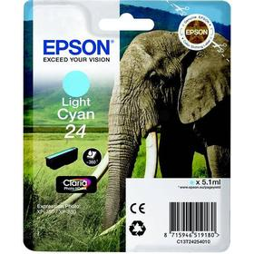 Epson (C13T24254012) Original Ink Light Cyan 5.1 ml 360 Pages