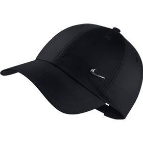 Nike Metal Swoosh H86 Hat - Black/Metallic Silver