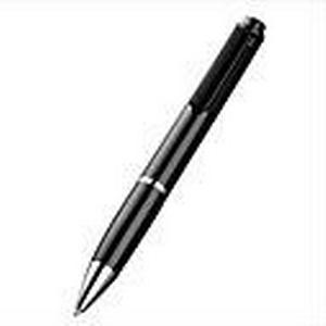 8GB Stereo Digital Voice Recording Pen MP3/TF/Extra Mic Schwarz  Silber