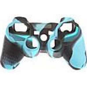 2pcs Camouflage Schutzmaßnahmen Silikon Skin für PS3 Controller