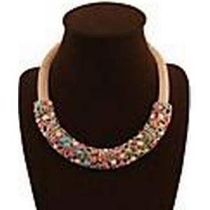 elegant übertreiben Halskette jx2076 Senlan Frauen