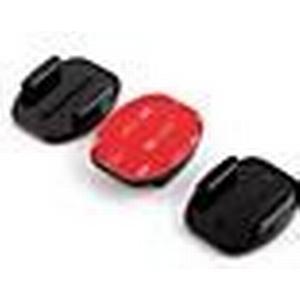 3pcs Sportwearable Kamera Suptig Curved Mounts mit 3M Klebstoff für Gopro Held 2/3/3