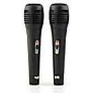 2 x 6 in 1 Kabelmikrofon Mikrofon-Set für Nintendo Wii / Wii U / Sony PS3 / PS2 / Microsoft Xbox360 / PC