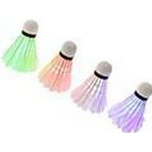 9  6.3cm Magie Farbe leuchtet Badminton (ramdom Farbe) (1pcs)