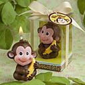 """Banana Monkey Love"" Candle"