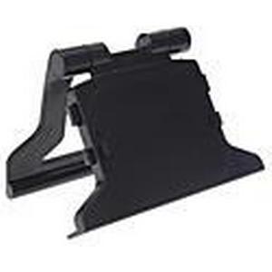 ABS Kunststoff Schwarz TV Clip Berg Dock Ständer Halter Halterung für Microsoft Xbox 360 Slim Kinect Sensor Augen