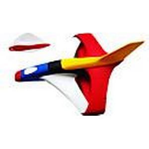 2 Stück im Freien Kinder-Segelflugzeug eva Bumerang Dart Spielzeug (zufällige Farbe)