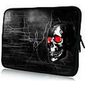 """Black Skull"" Pattern Nylon Material wasserdicht Hülle für 11 ""/ 13"" / 15 ""Laptop  Tablet"