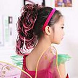 100% Kanekalon-Kunstpferdeschwanz für Kinder