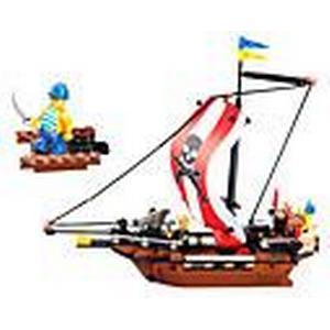 226pcs lego Kunststoff karibischen Piratenschiff Baustein Ziegel Spielzeug