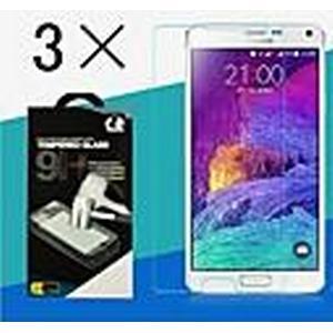 2.5d 0,26 mm 9h hochwertigen Premium gehärtetem Glas Hochglanz-Bildschirm-Schutzfolie für Samsung Galaxy Hinweis4 (3 Stück)