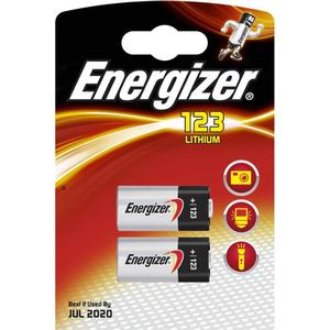 Energizer Batteri ENERGIZER Lithium Foto 123 2 st/förp