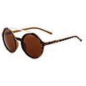 100% UV400 runde Polycarbonat Retrosonnenbrille