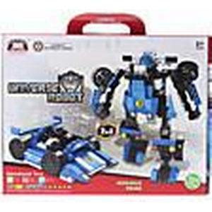 2-in-1 DIY Transforming Bewegliche montiert Universe Car Robot Bricks (127pcs)
