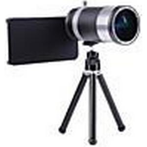 14x Zoom Aluminium Tele Teleskop SLR Kamera-Handy-Objektiv für iPhone 6/6 Plus