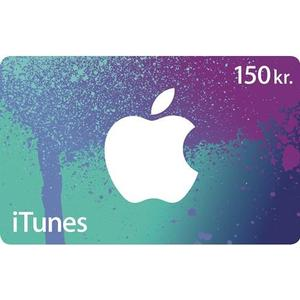 Apple iTunes Presentkort 150 SEK