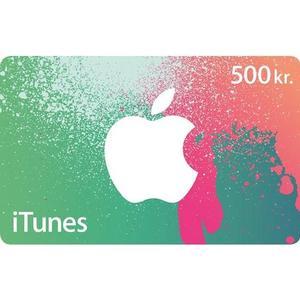 Apple Itunes Presentkort 500 sek