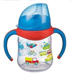 Babies ´R´ Us NIP – Weithalstrinklernflasche blau 150 ml