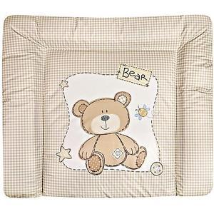 Babies ´R´ Us Babies R Us – Wickelauflage Softy, Bär, 75 x 85 cm