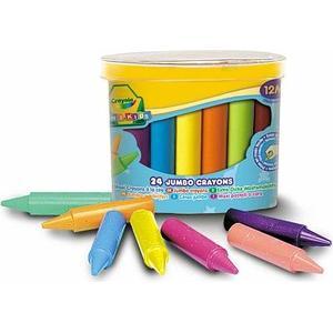 BBM Crayola – 24 Jumbo Wachsmalstifte