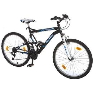 – AVIGO – 26 Mountainbike Downhill 26, schwarz/blau
