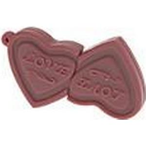16GB Heart to Heart Schokolade USB2.0 Flash Drive
