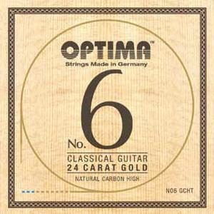 Optima No.6 Gold Strings Carbon High
