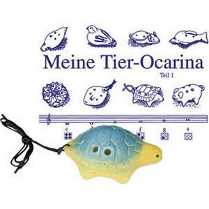 Thomann Ocarina 4H G Soprano Turtle BL