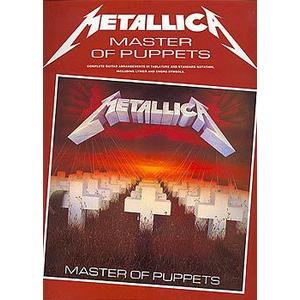 Cherry Lane Music Company Metallica Master Of Puppets