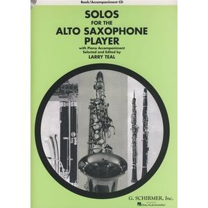 G. Schirmer Solos For The A-Sax Player