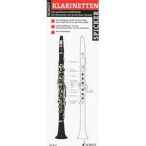 Schott Klarinetten- Spicker