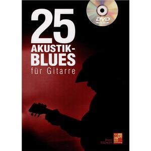 Play-Music Publishing 25 Akustik-Blues für Gitarre