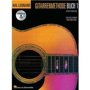 Hal Leonard Gitarrenmethode + CD Vol.1