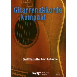 Musikverlag Quickstep Gitarrenakkorde kompakt