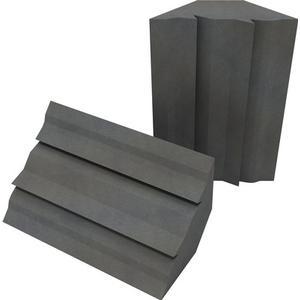 EQ Acoustics Project Corner Traps grey