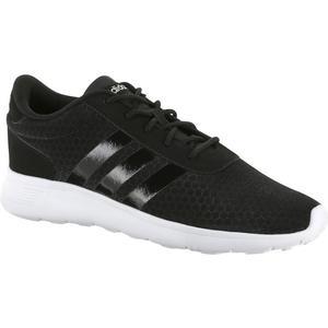 ADIDAS Freizeitschuhe Sneakers Sommer leicht Lite Racer Damen schwarz/weiß, Größe: 42