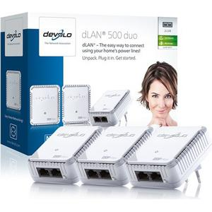 Devolo dLAN 500 duo Network Kit Powerline 500Mbps