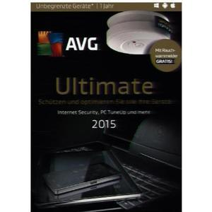 AVG Ultimate 2015 - Special Edition Rauchmelder, 1 DVD-ROM