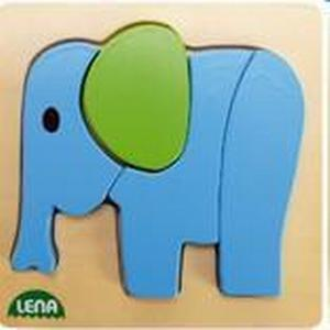 Simm Marketing Lena Holzpuzzle Elefant
