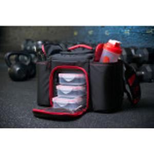 6 Pack Innovator Small: Black/Red