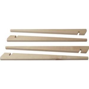 10T 4KL 40HH - Hart-Holz Zelt-Pflock 40cm 4er-Set
