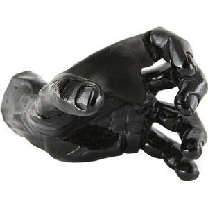 Guitar Grip Black Metallic Male Hand left