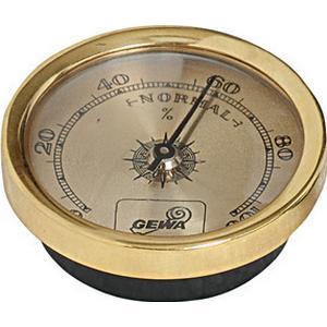 Gewa Hygrometer Gold