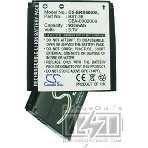 Sony Ericsson Xperia X10a mini Pro batteri (930 mAh)