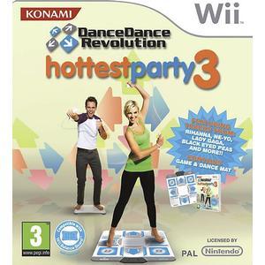 Dance Dance Revolution Hottest Party 3 (Incl. Dance Mat)