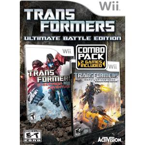Transformers: Ultimate Battle Edition Combo Pack