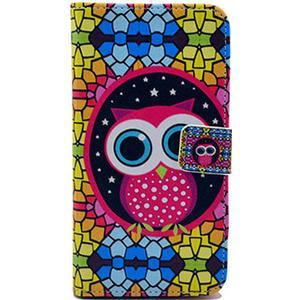 Flipover cover med uggla Samsung Galaxy S4