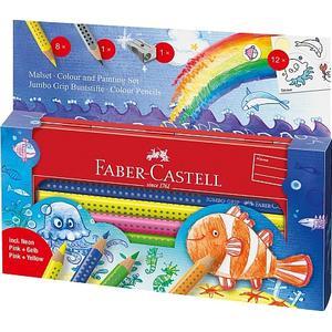 BBM Faber-Castell – Jumbo GRIP Malset Unterwasserwelt