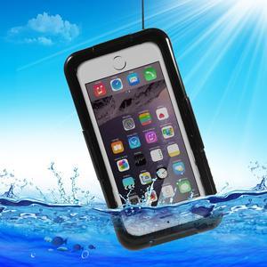 Vattentätt fodral till iPhone 7, Svart