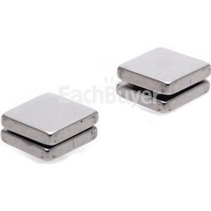 1 Paar Unisex Titan Stahl Magnetische Ohrringe Clip On Ohrstecker kein Piercing Hot